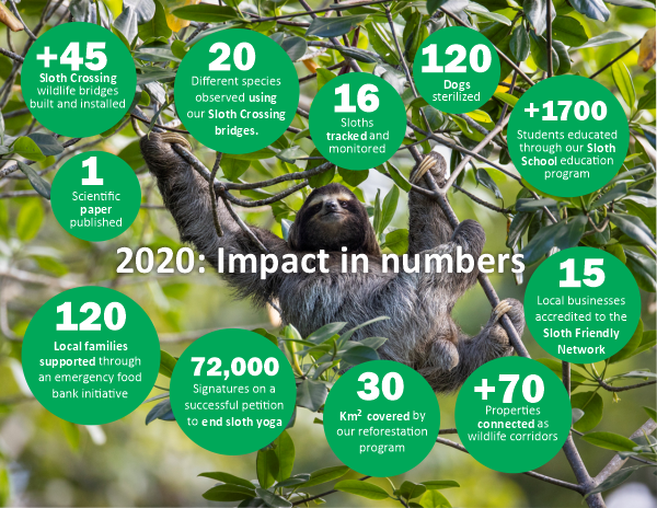 sloth conservation report 2020